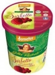 Sorbet malinowy BIO 500ml Rachelli Ice Cream