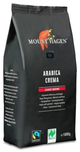Kawa ziarnista Crema Fair Trade BIO 1kg Mount Hagen