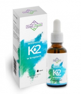Witamina K2 w kroplach 30ml Soul Farm