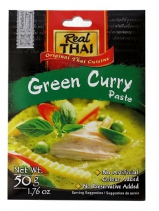 Pasta Curry zielona 50g Real Thai