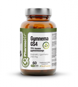 GYMNEMA 60 KAPSUŁEK 21,18 g - PHARMOVIT (CLEAN LABEL)