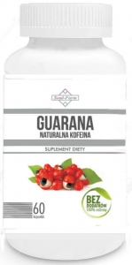 Guarana ekstrakt 500mg 60 kapsułek Soul Farm