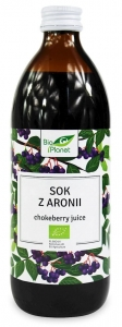 Sok z aronii 500ml BIO Bio Planet