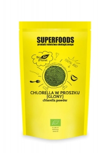 Chlorella BIO 200g proszek Bio Planet Superfoods
