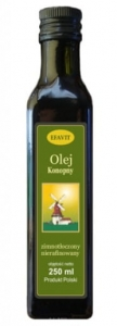 Olej z konopi Virgin  250ml Efavit - data 21.09