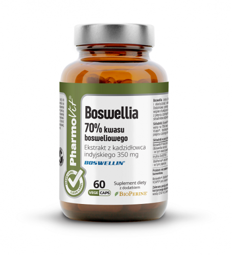 12681BOSWELLIA 60 KAPSUŁEK 33,09 g - PHARMOVIT (CLEAN LABEL)-1